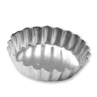 QUICHE PAN Solid Base 80mm