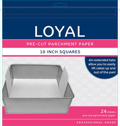 PRE-CUT PAPER WITH TABS SQ 250mm/10 inch