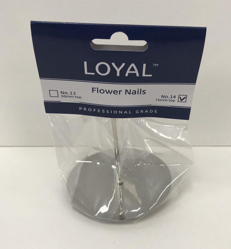 No. 14 FLOWER NAIL