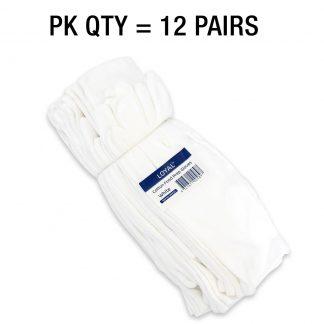 White Cotton Food Prep Gloves
