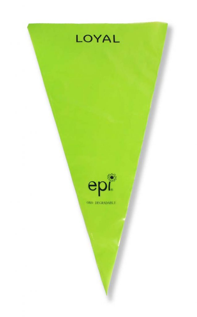 18in/46cm THE GREEN PIPING BAG