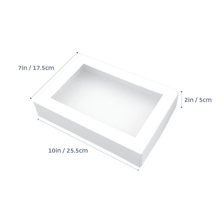 BISCUIT BOX RECTANGLE 10x7x2in