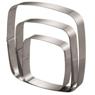 CAKE RING SQUARE 150 x 150 mm S/S