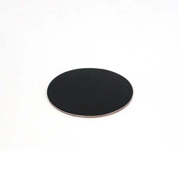 2mm DESSERT BOARD RND 70mm BLACK