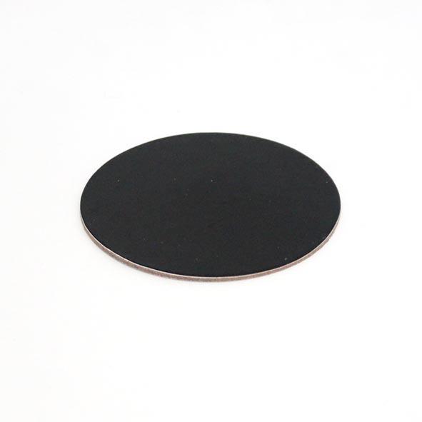 2mm DESSERT BOARD RND 90mm BLACK