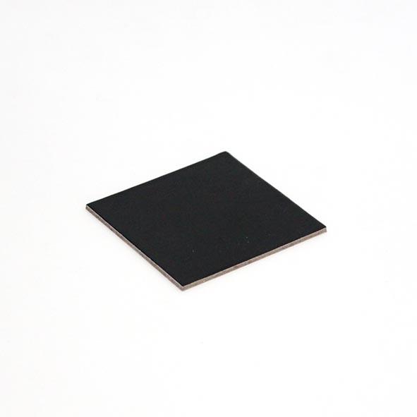 2mm DESSERT BOARD SQ 60mm BLACK
