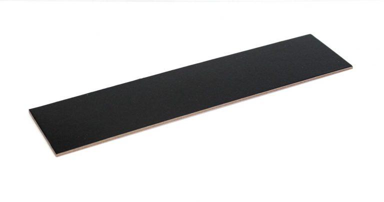3mm DESSERT BOARD REC 280x65mm BLACK