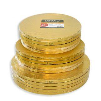 DRUM BOARD GOLD ROUND