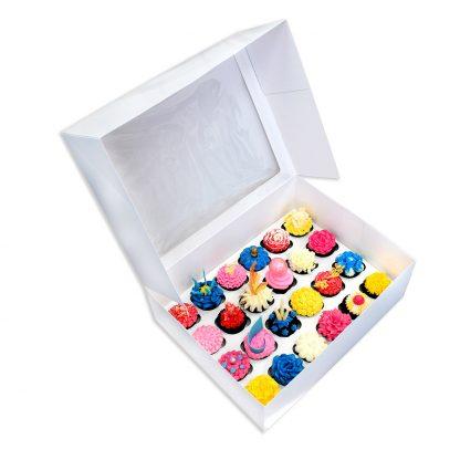 24 CAVITY CUPCAKE BOX + INSERT