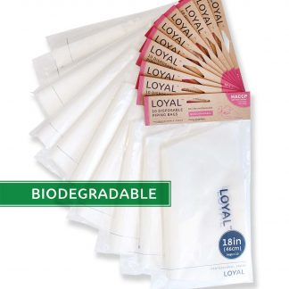 18in/46cm CLEAR BIODEGRADABLE (RP)