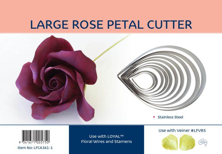 LARGE ROSE PETAL CUTTER