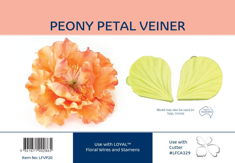 PEONY PETAL VEINER