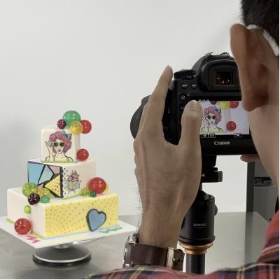 How to create a Pop Art Cake