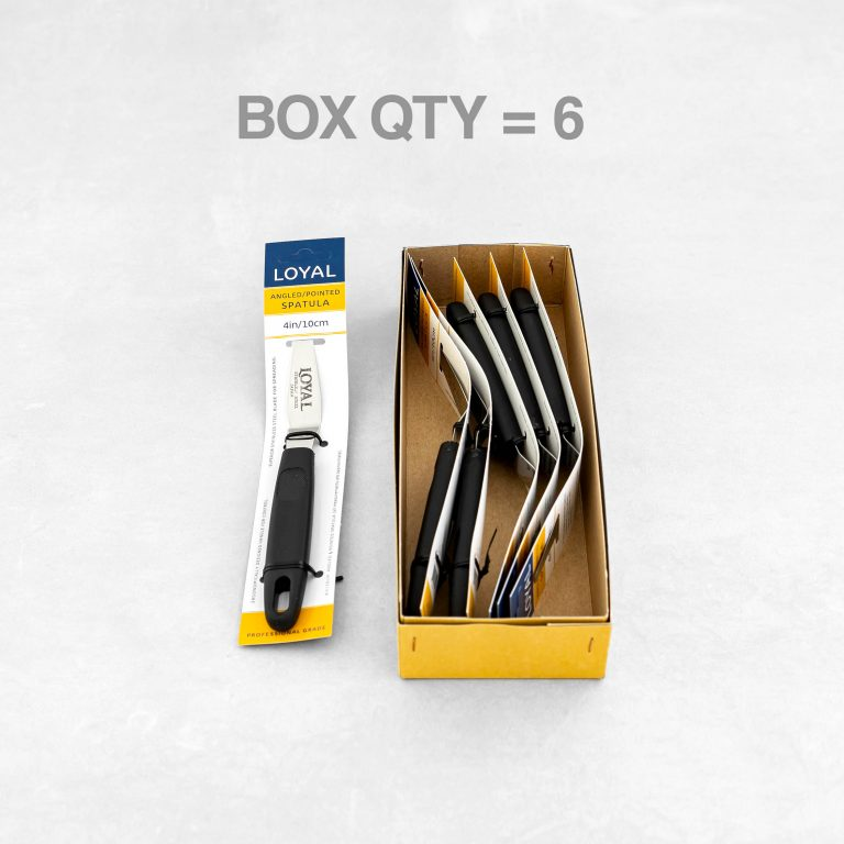 ANGLED & POINTED SPATULA  4in/10cm