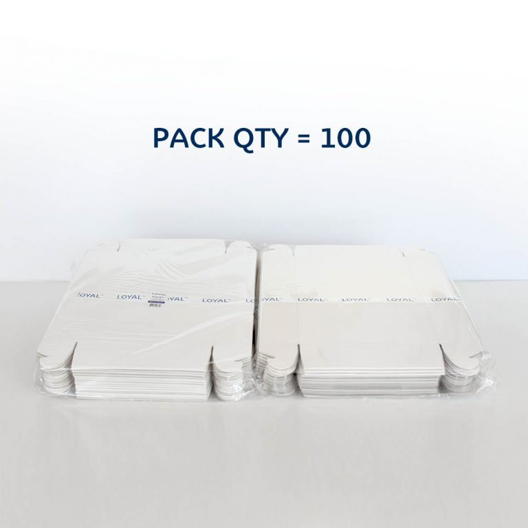 CLEAR LID BISCUIT BOX RECTANGLE 10x7x2in