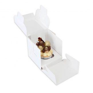 SINGLE CUPCAKE BOX + INSERT