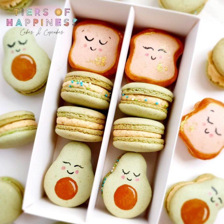 12 Macaron Box Window Lid