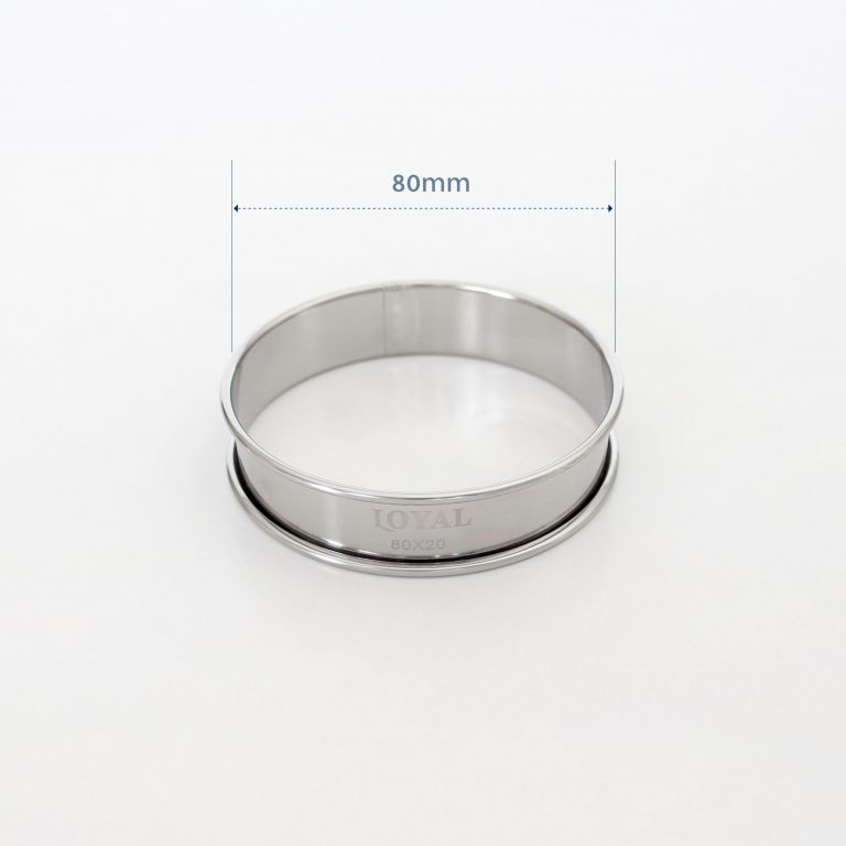 80mm CRUMPET RING S/S