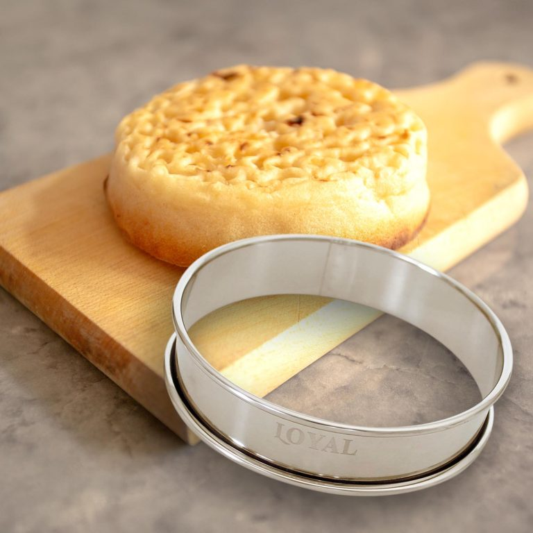 100mm CRUMPET RING S/S