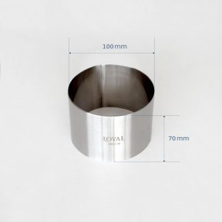 100mm FOOD/STACKER RING S/S
