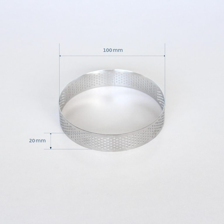 100mm PERFORATED RING S/S