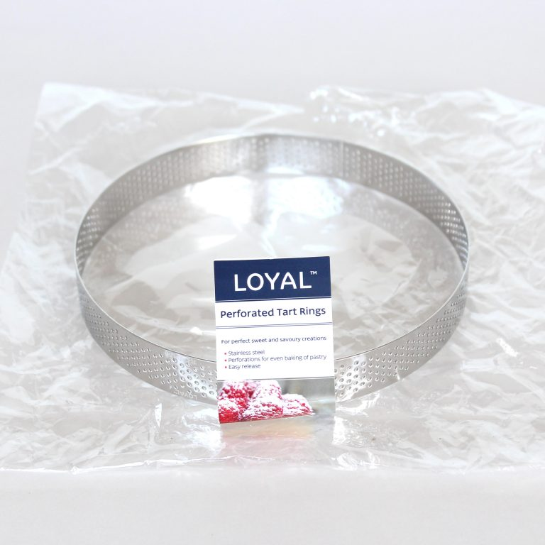 150mm PERFORATED RING S/S