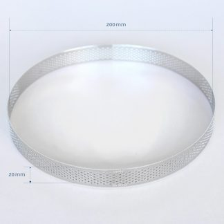 200mm PERFORATED RING S/S