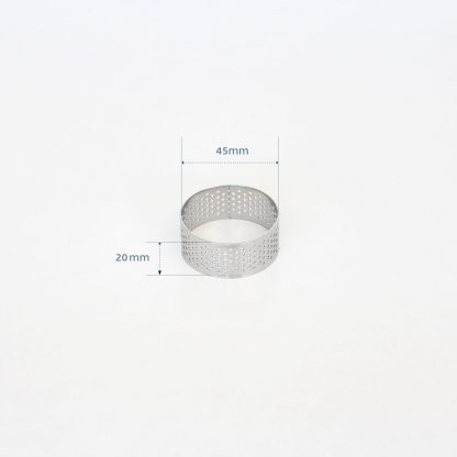 45mm PERFORATED RING S/S