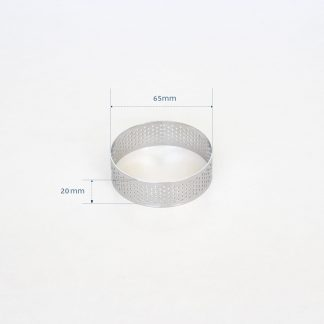 65mm PERFORATED RING S/S