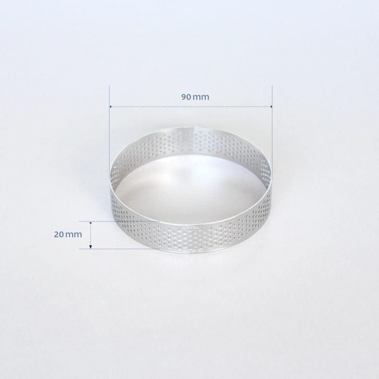 90mm PERFORATED RING S/S