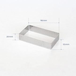 98mm PERFORATED RING S/S