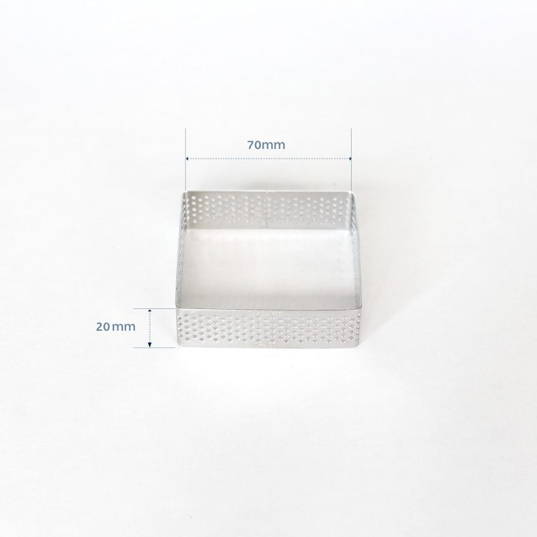 70mm PERFORATED RING S/S