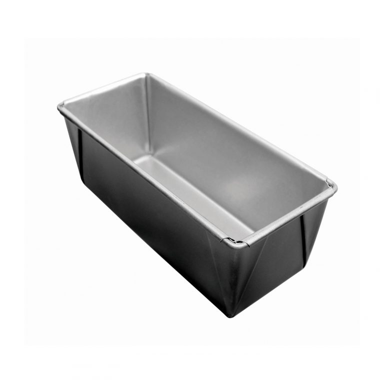 680g BREAD PAN BLACK OUTER COATED