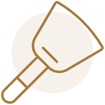 SCRAPERS + DOUGH CUTTERS
